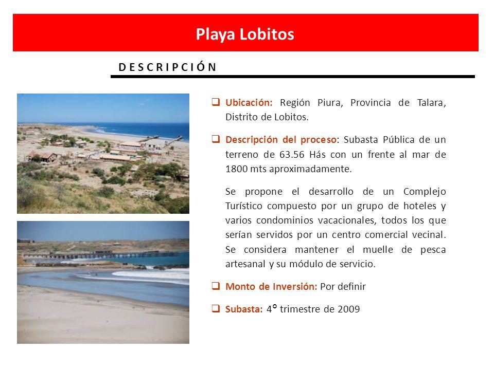 Playa Lobitos D E S C R I P C I Ó N