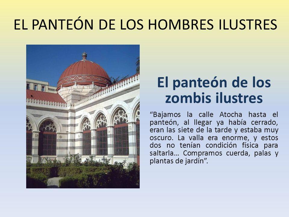 EL PANTEÓN DE LOS HOMBRES ILUSTRES