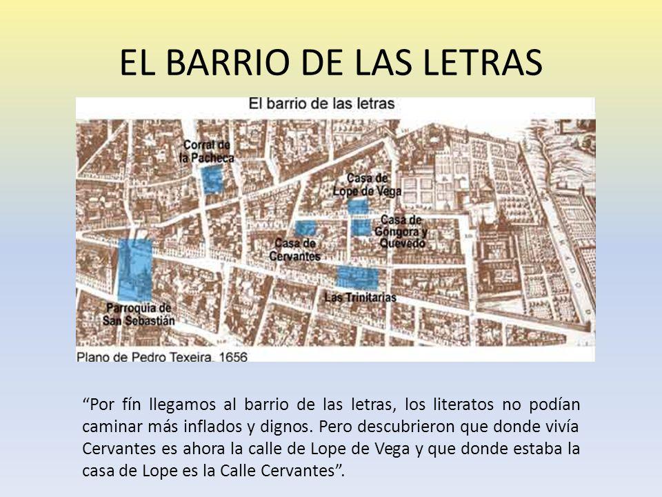 EL BARRIO DE LAS LETRAS