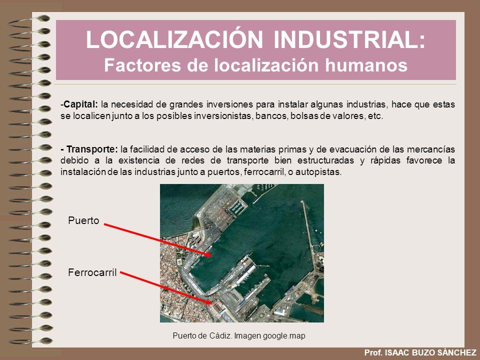LOCALIZACIÓN INDUSTRIAL: Factores de localización humanos