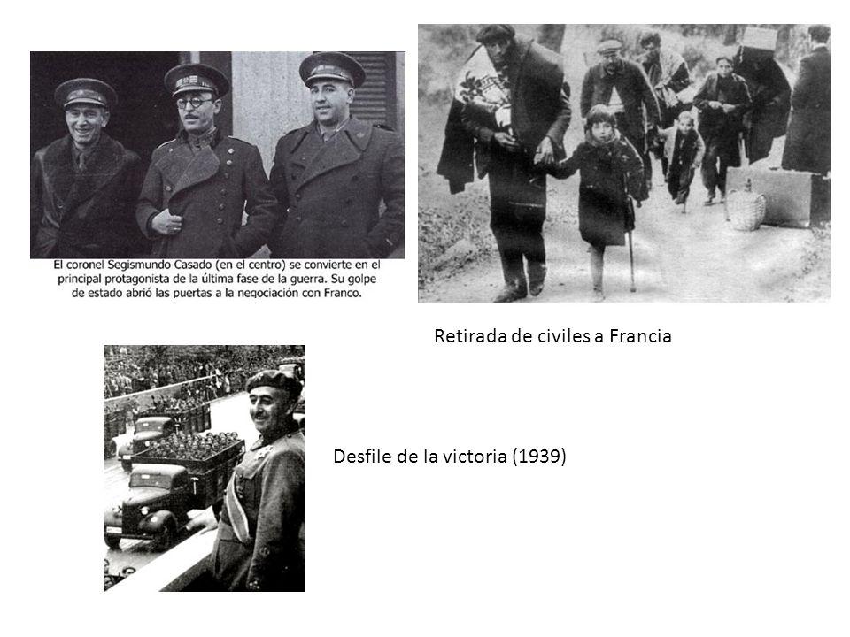 Retirada de civiles a Francia