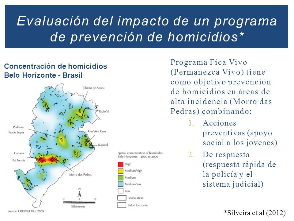 Evaluación del impacto de un programa de prevención de homicidios*