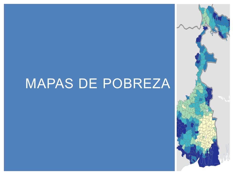 Mapas de pobreza