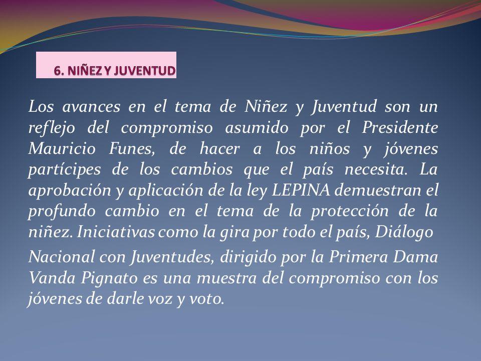 6. NIÑEZ Y JUVENTUD