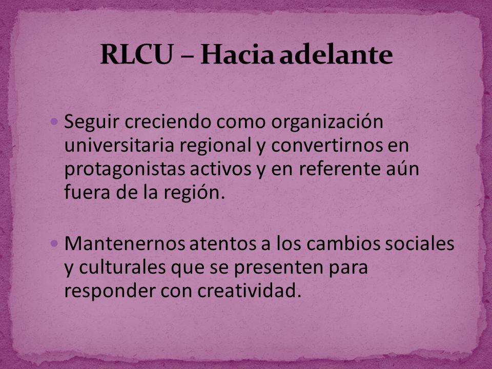 RLCU – Hacia adelante