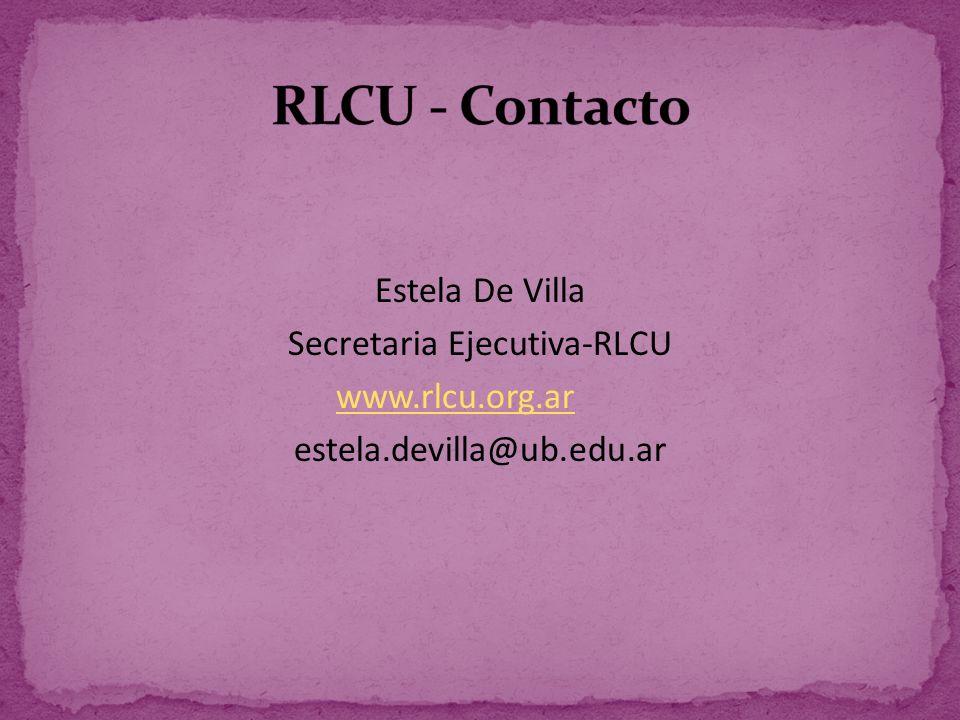 Secretaria Ejecutiva-RLCU