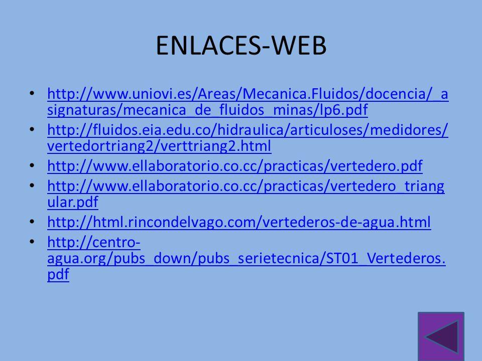 ENLACES-WEB http://www.uniovi.es/Areas/Mecanica.Fluidos/docencia/_asignaturas/mecanica_de_fluidos_minas/lp6.pdf.