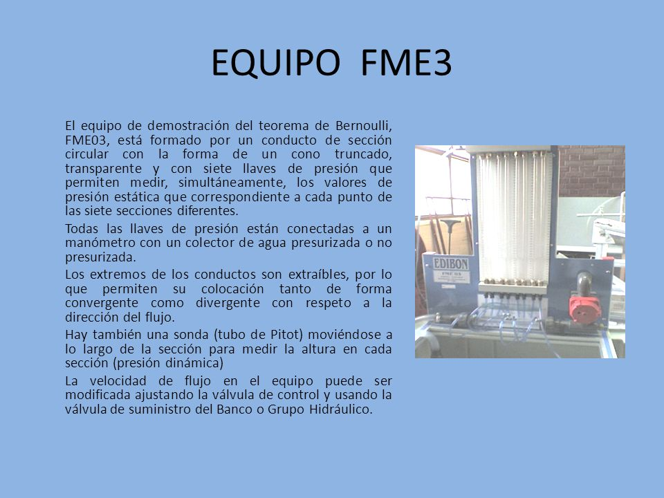 EQUIPO FME3