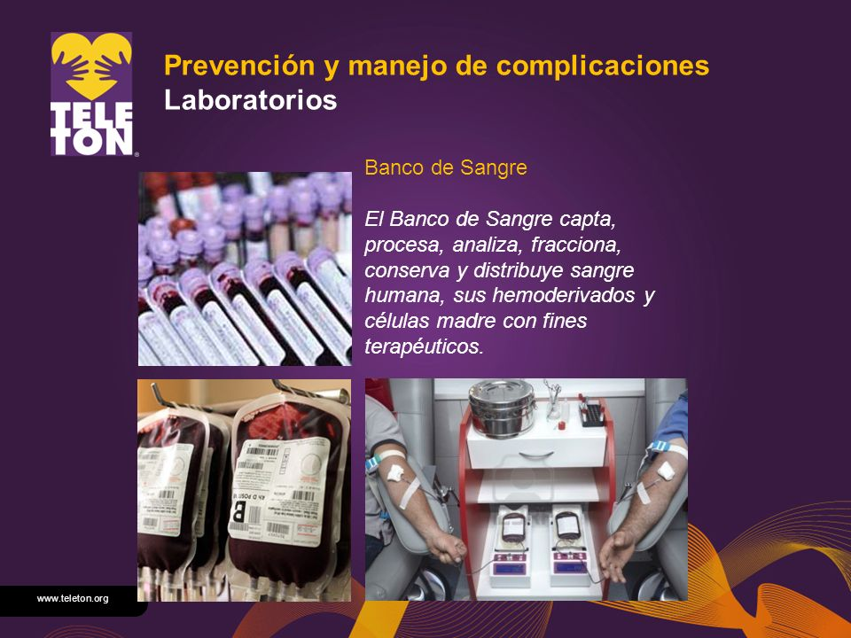 Prevención y manejo de complicaciones Laboratorios