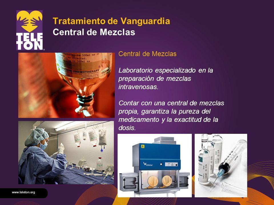 Tratamiento de Vanguardia Central de Mezclas