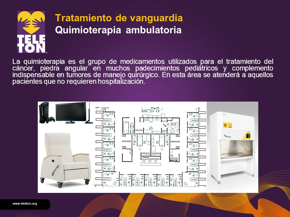 Tratamiento de vanguardia Quimioterapia ambulatoria
