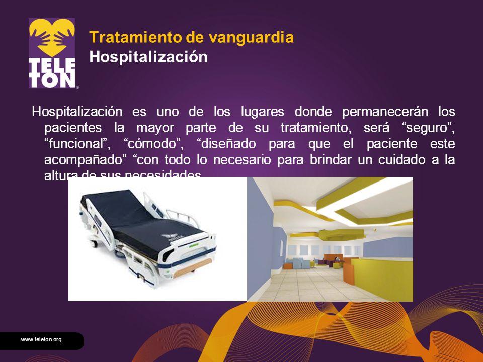 Tratamiento de vanguardia Hospitalización