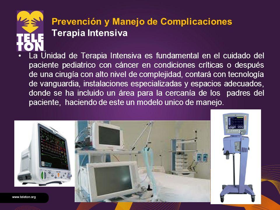 Prevención y Manejo de Complicaciones Terapia Intensiva