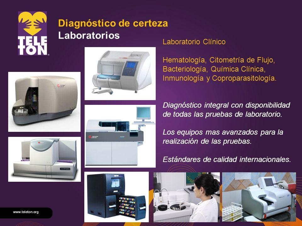 Diagnóstico de certeza Laboratorios