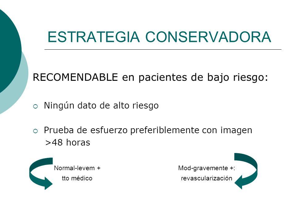 ESTRATEGIA CONSERVADORA