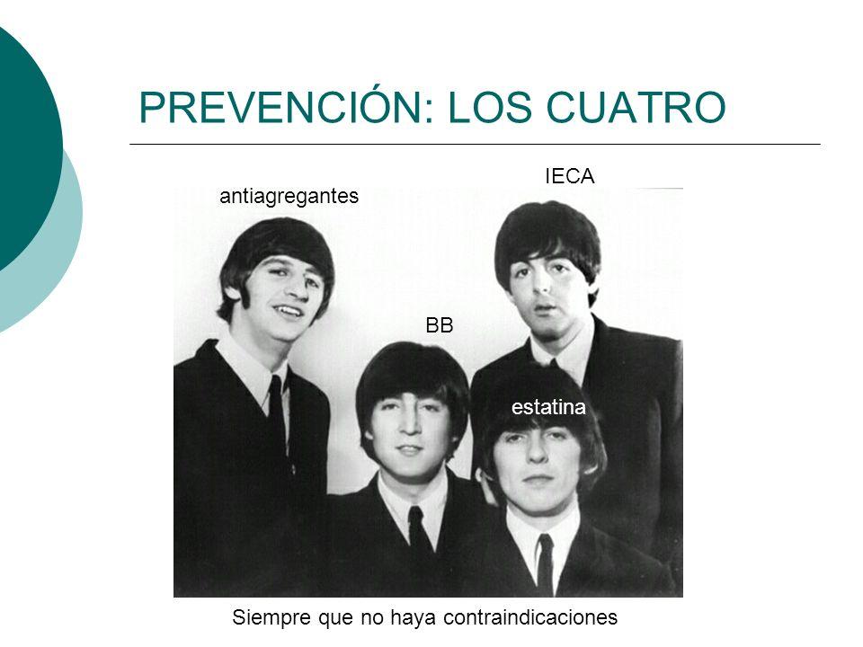 PREVENCIÓN: LOS CUATRO