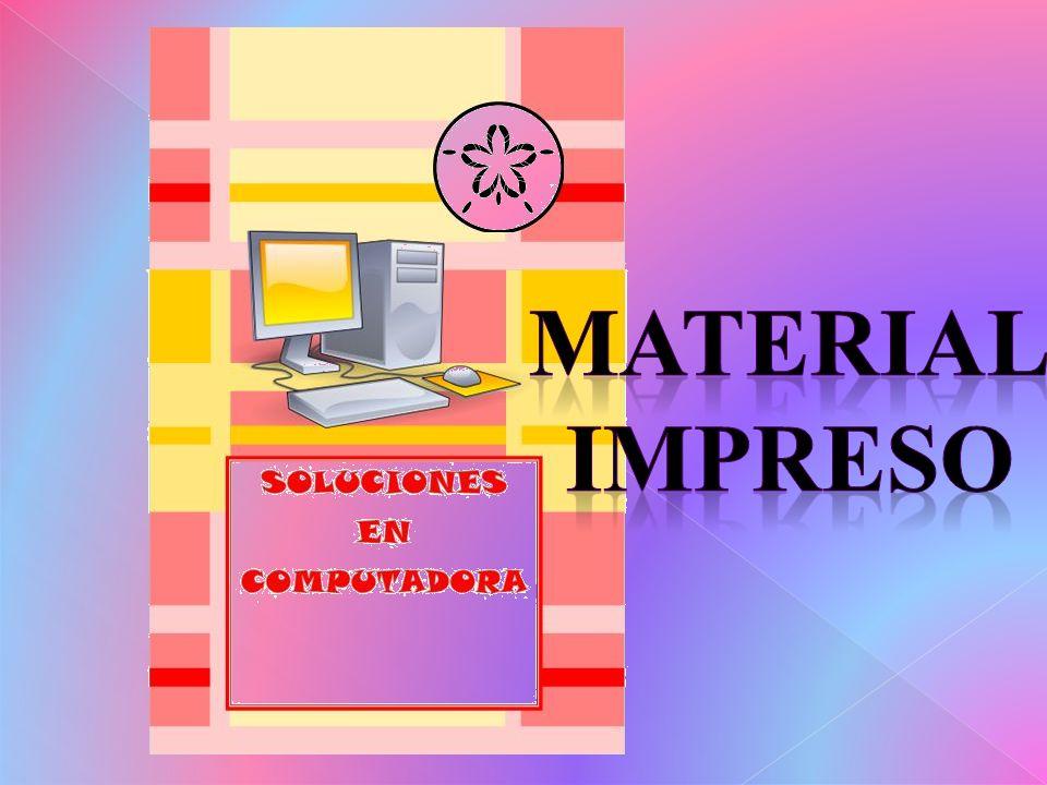 Material impreso