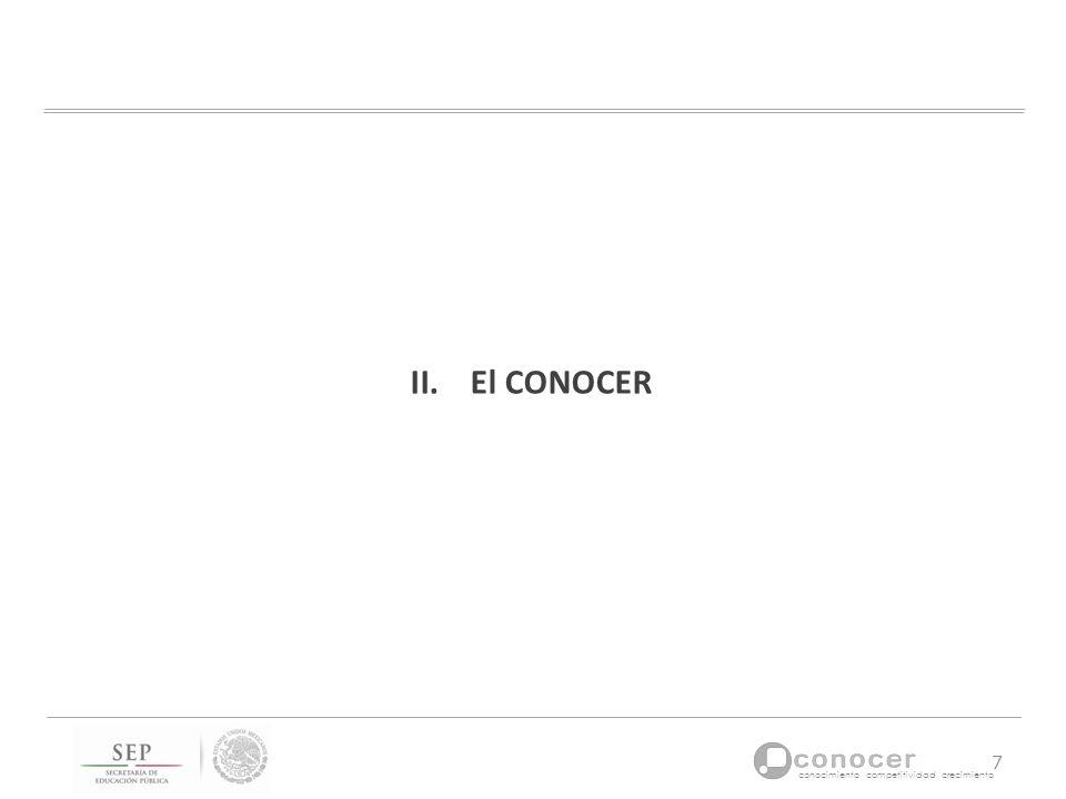 El CONOCER