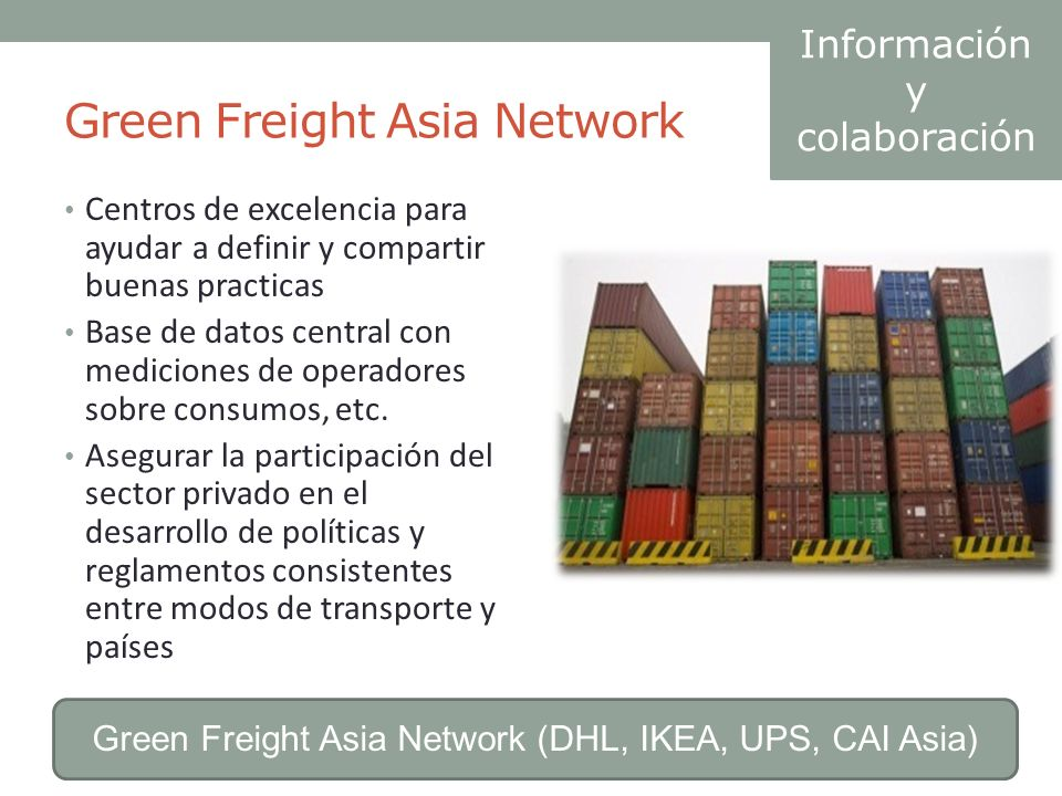 Green Freight Asia Network