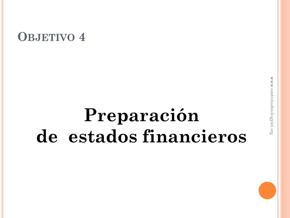 de estados financieros