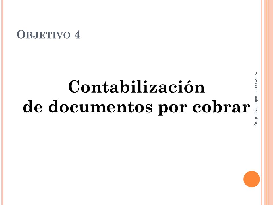 de documentos por cobrar