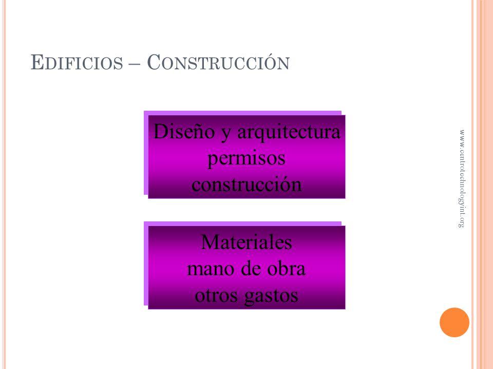 Edificios – Construcción