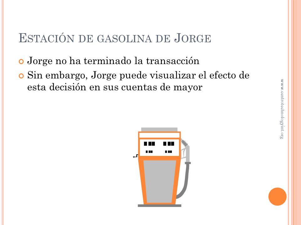 Estación de gasolina de Jorge