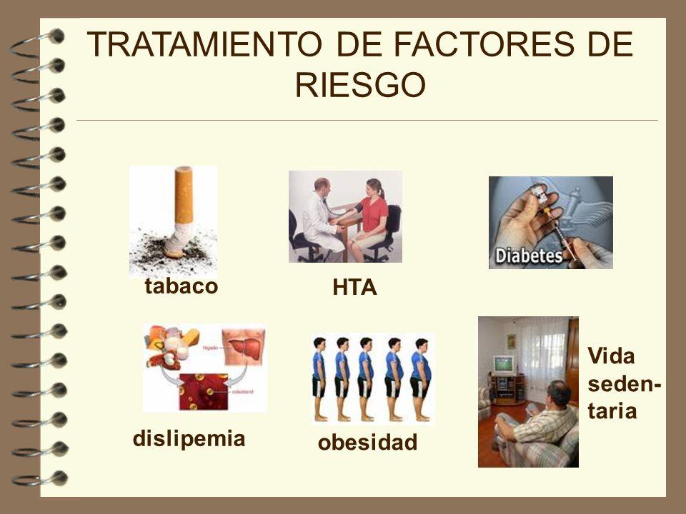 TRATAMIENTO DE FACTORES DE RIESGO