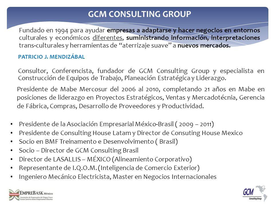 Presidente de la Asociación Empresarial México-Brasil ( 2009 – 2011)