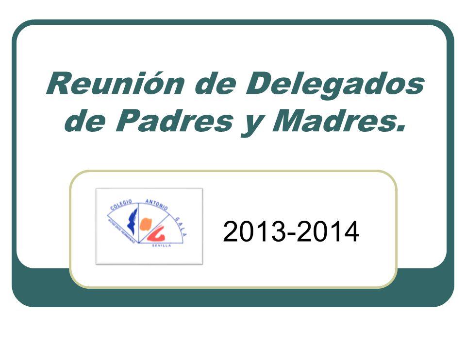 Reunión de Delegados de Padres y Madres.