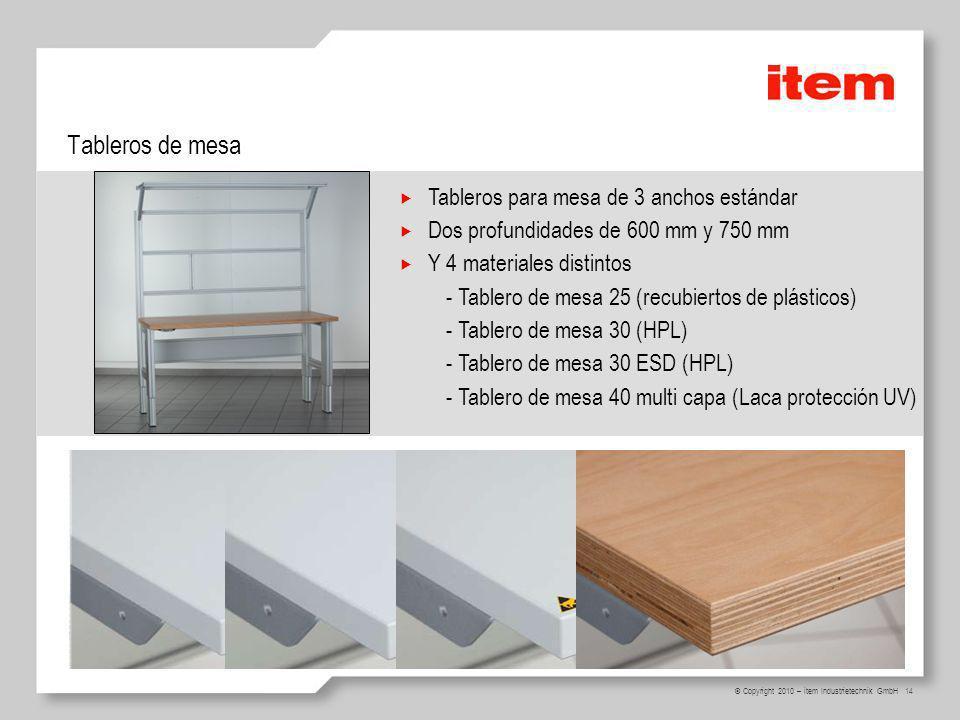 Tableros de mesa Tableros para mesa de 3 anchos estándar