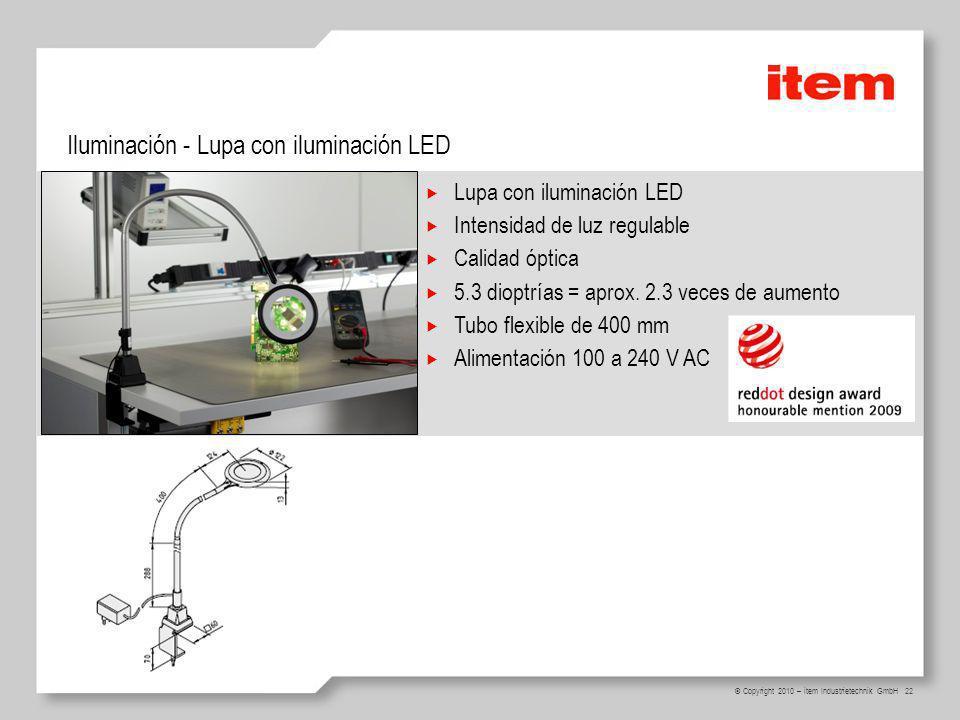 Iluminación - Lupa con iluminación LED