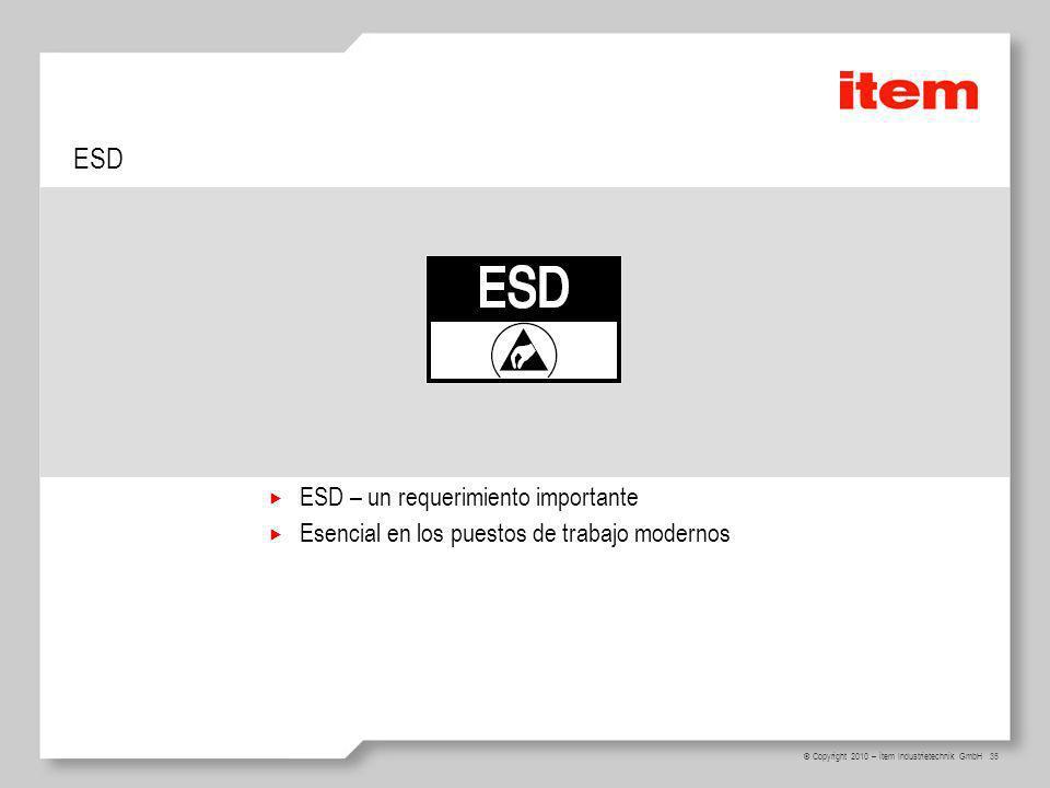 ESD ESD – un requerimiento importante
