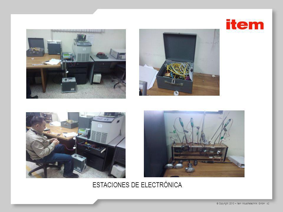 ESTACIONES DE ELECTRÓNICA