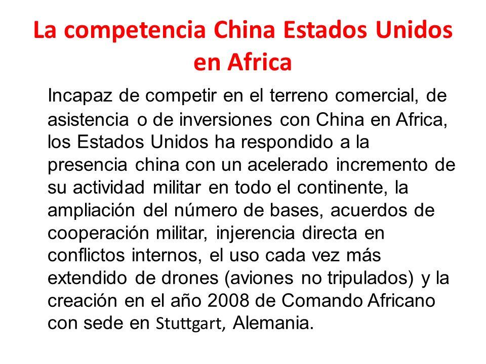 La competencia China Estados Unidos en Africa
