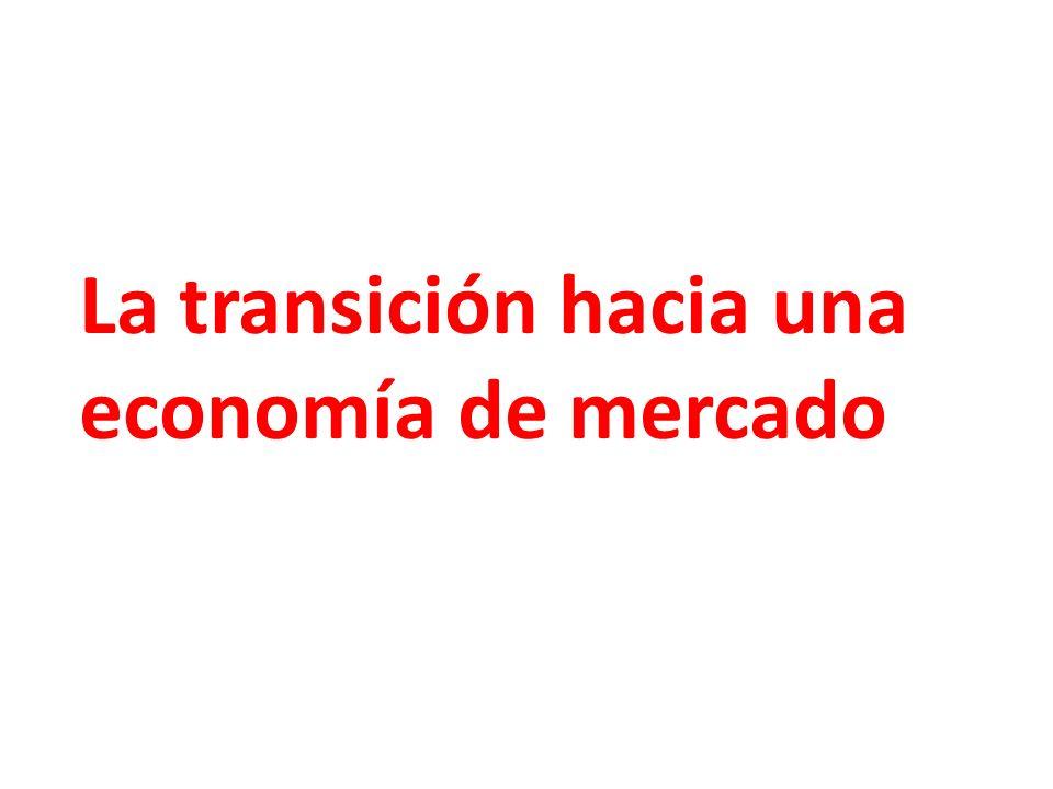La transición hacia una economía de mercado