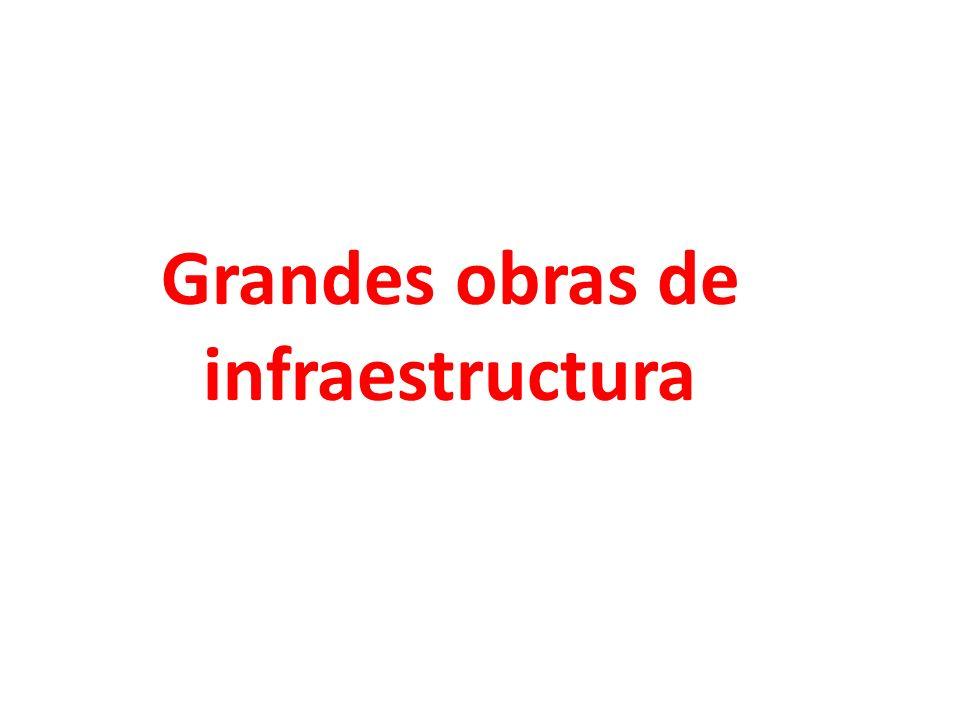 Grandes obras de infraestructura