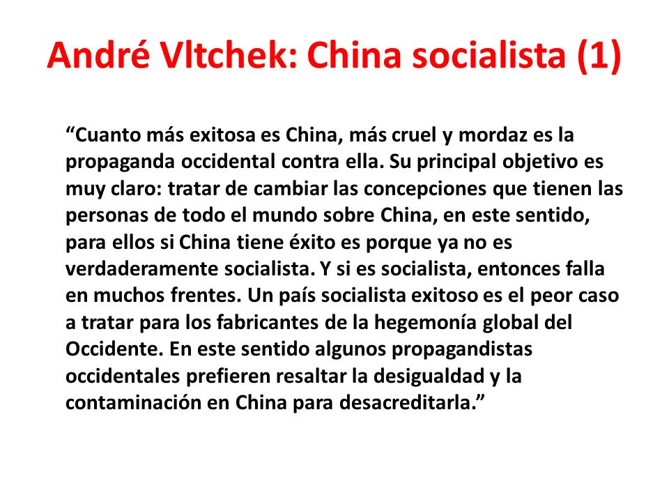 André Vltchek: China socialista (1)