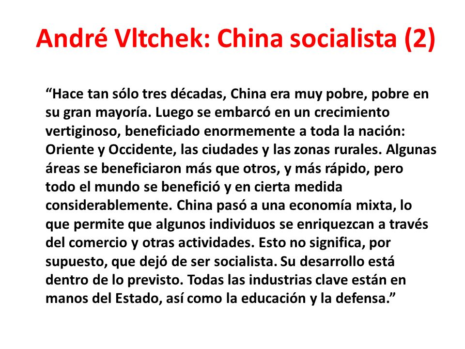 André Vltchek: China socialista (2)