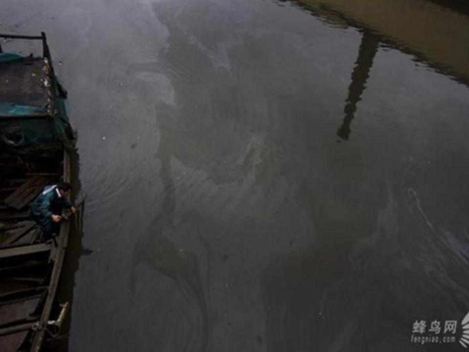 Foto del proyecto documental La Polución en China del fotógrafo chino Lu Guang.