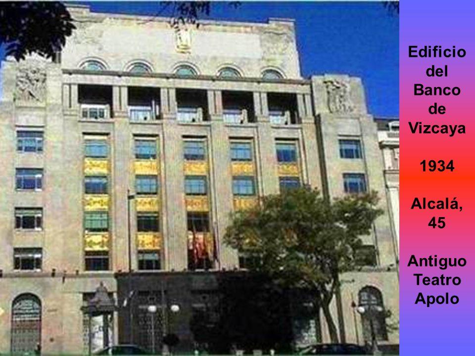 Edificio del Banco de Vizcaya