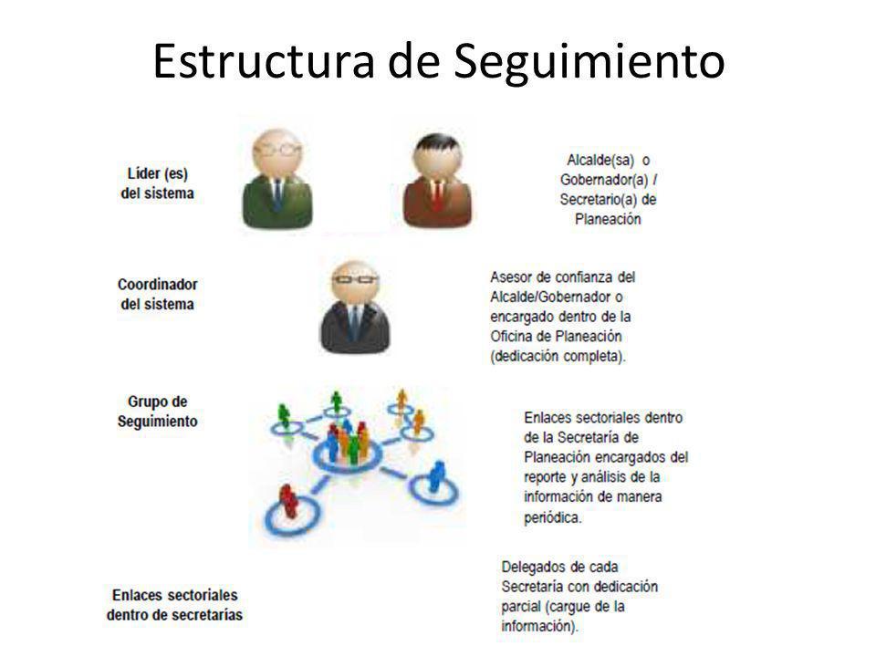 Estructura de Seguimiento