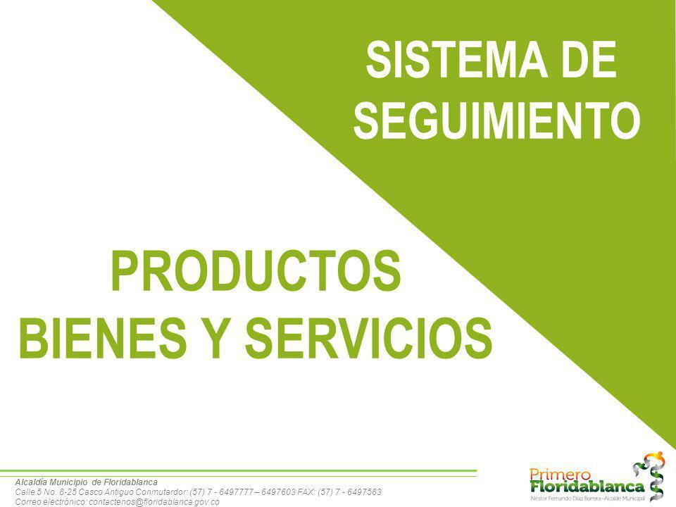 PRODUCTOS BIENES Y SERVICIOS