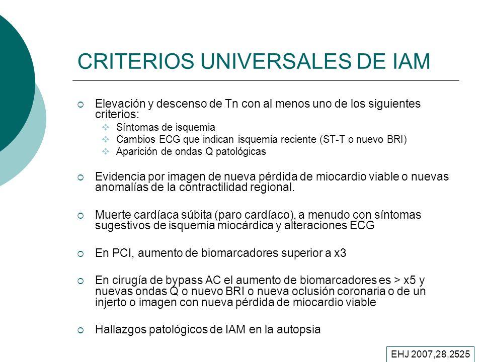 CRITERIOS UNIVERSALES DE IAM