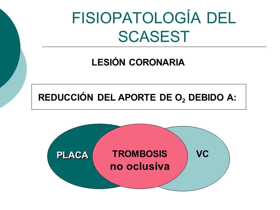 FISIOPATOLOGÍA DEL SCASEST
