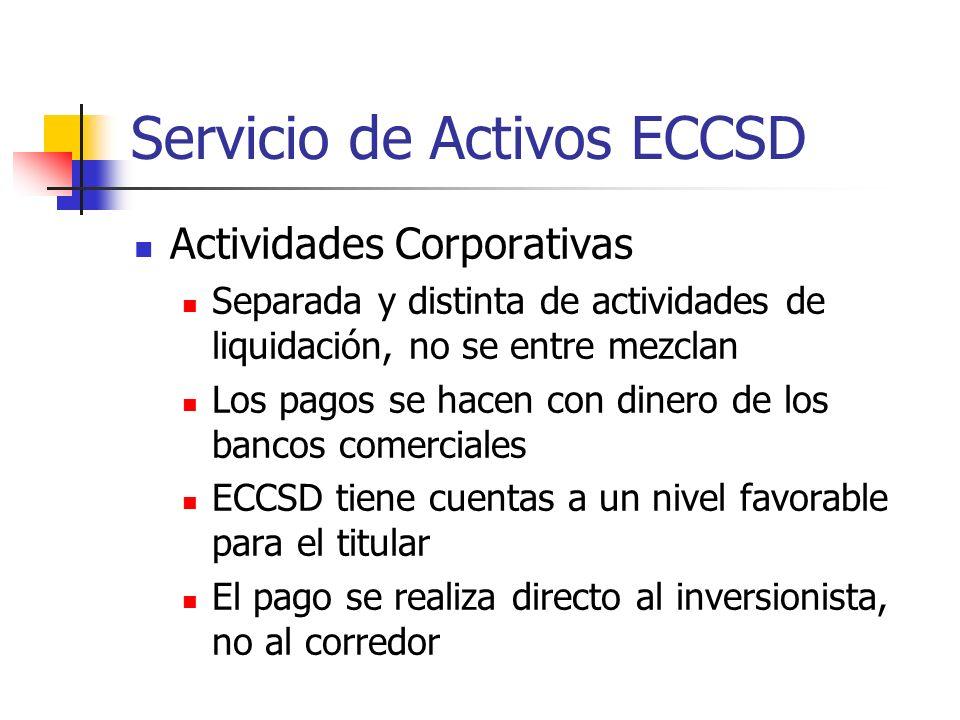 Servicio de Activos ECCSD