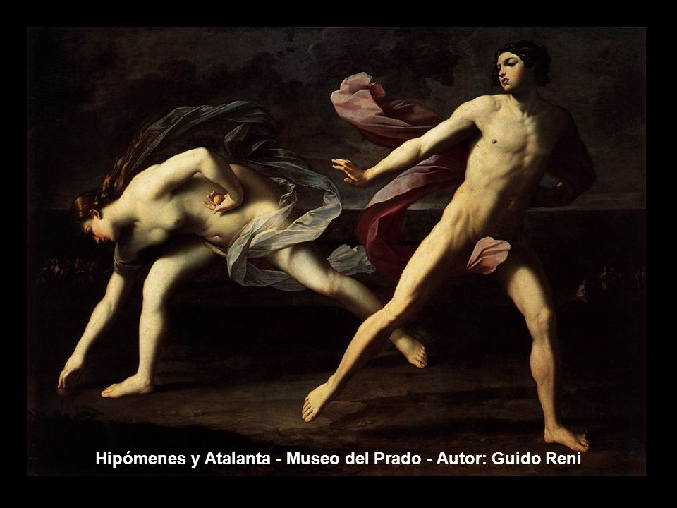 Hipómenes y Atalanta - Museo del Prado - Autor: Guido Reni