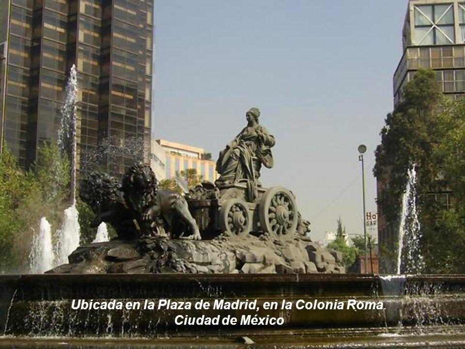 Fuente de Cibeles en México