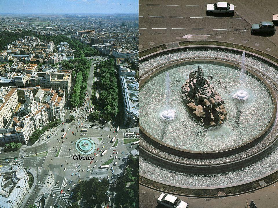 El Paseo del Prado, que era denominado hace mucho tiempo