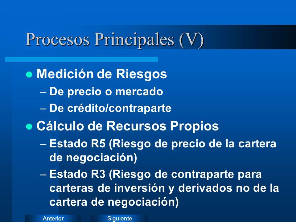 Procesos Principales (V)